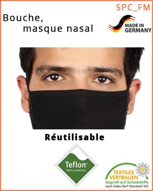 """Masque nez-bouche - transfert de gouttelettes (SPC_FMB_M / bouche-, masque nasal) - taille """"M"""""""