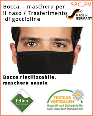 """Maschera bocca-naso - (SPC_FMB_L /  Maschera bocca-naso) -  dimensione """"L"""""""