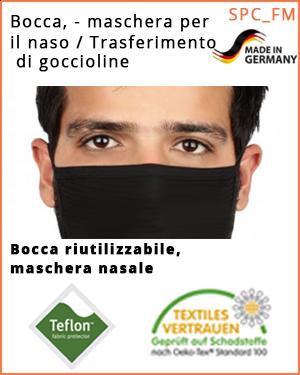 """Maschera bocca-naso - (SPC_FM_XL /  Maschera bocca-naso) -  dimensione """"XL"""""""